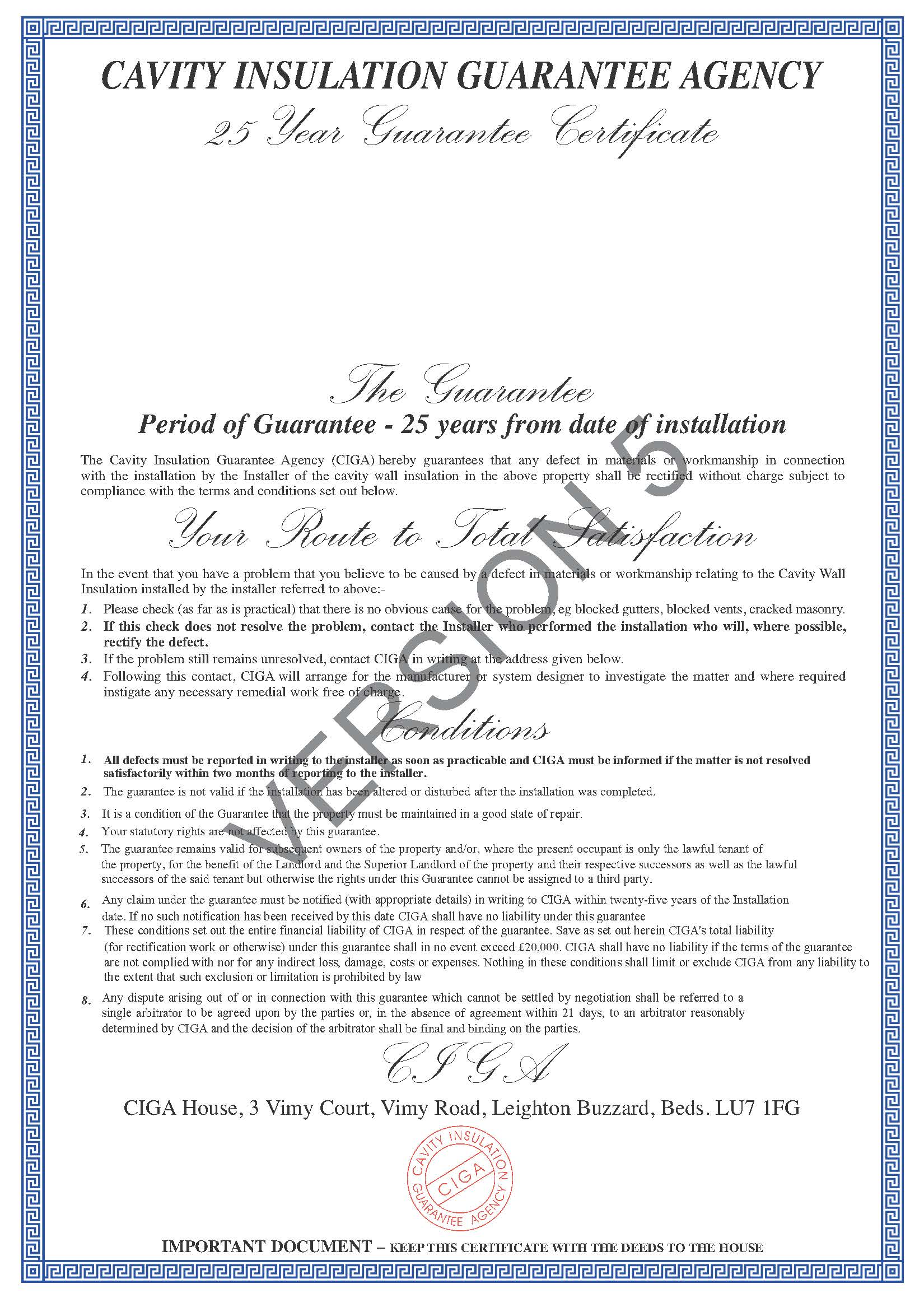 Is A Building Regulations Compliance Certificate A Guarantee Or Warranty
